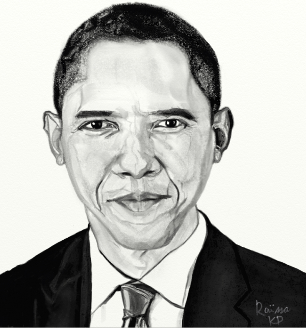 Barack Obama por RaissaKP